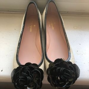 Kate Spade Chanel-Like Rose Flats